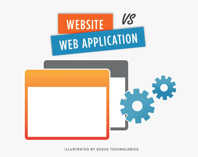 segue blog website vs web application what is the difference 1