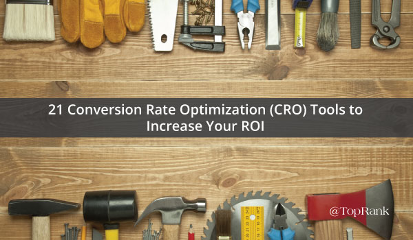 Conversion Rate Optimization Tools 1