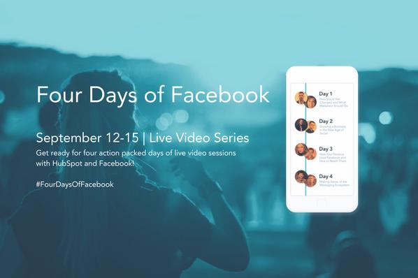 4days of facebook