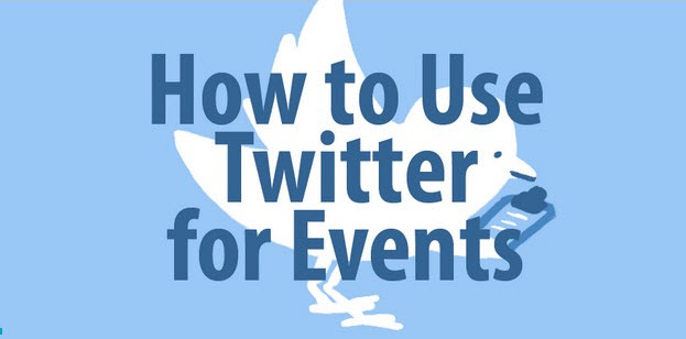 twitter for events