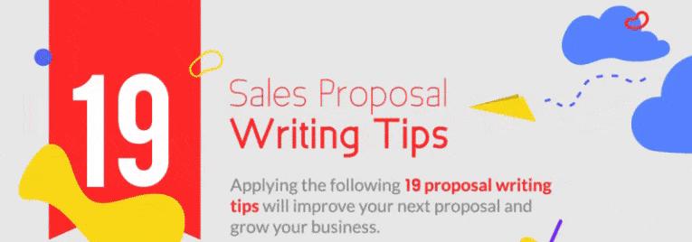 Sales Proposal Writing Tips