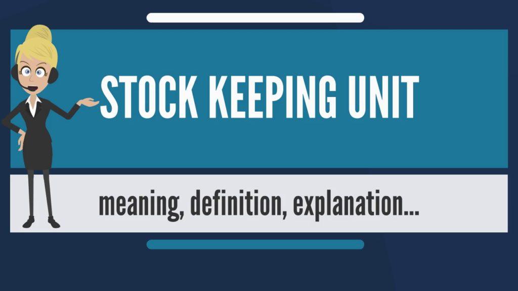 stock keeping unit sku
